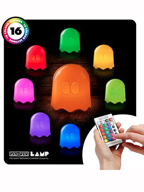 Price Right Home Pac-Man Colour Changing Ghost Lamp