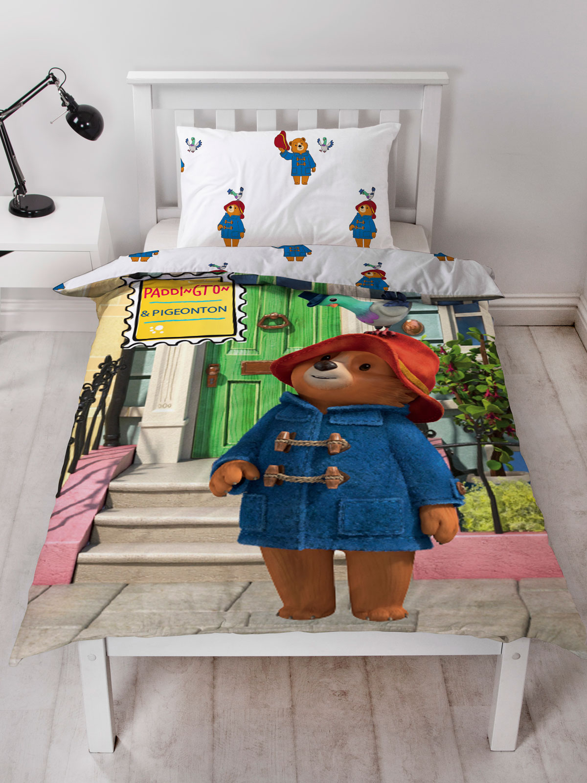 Paddington Bear Friends Single Duvet Cover Set