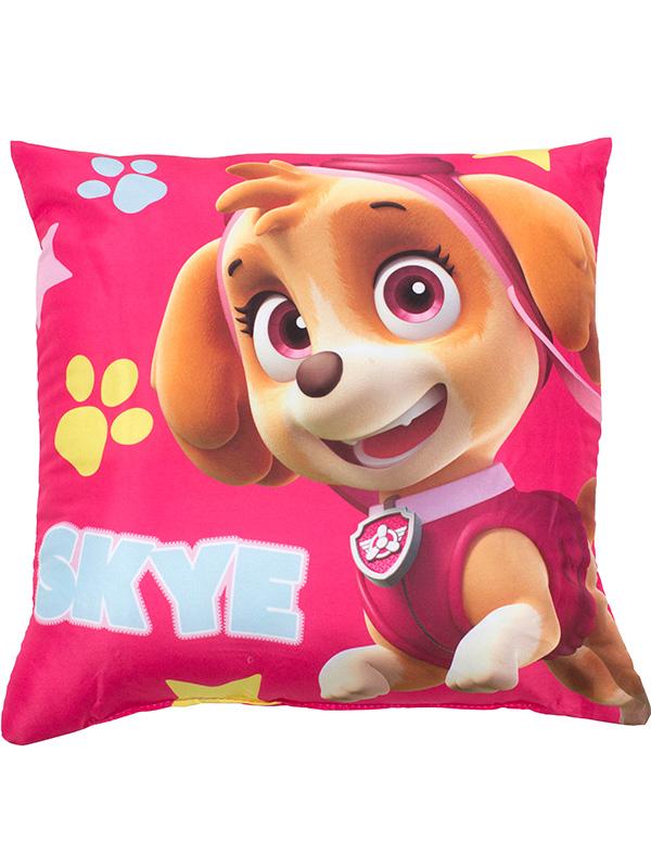 paw patrol stars reversible cushion