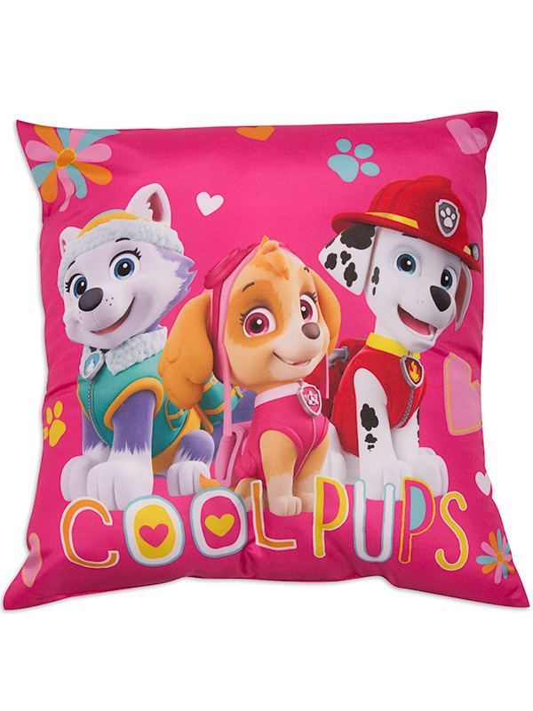 paw patrol forever reversible cushion