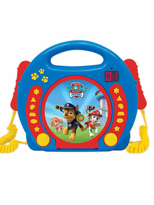 Paw Patrol CD Player with Microphones