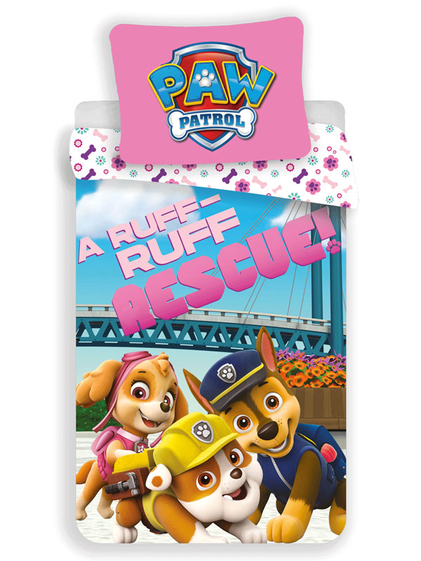 Paw Patrol Ruff Rescue Single Duvet Cover Set