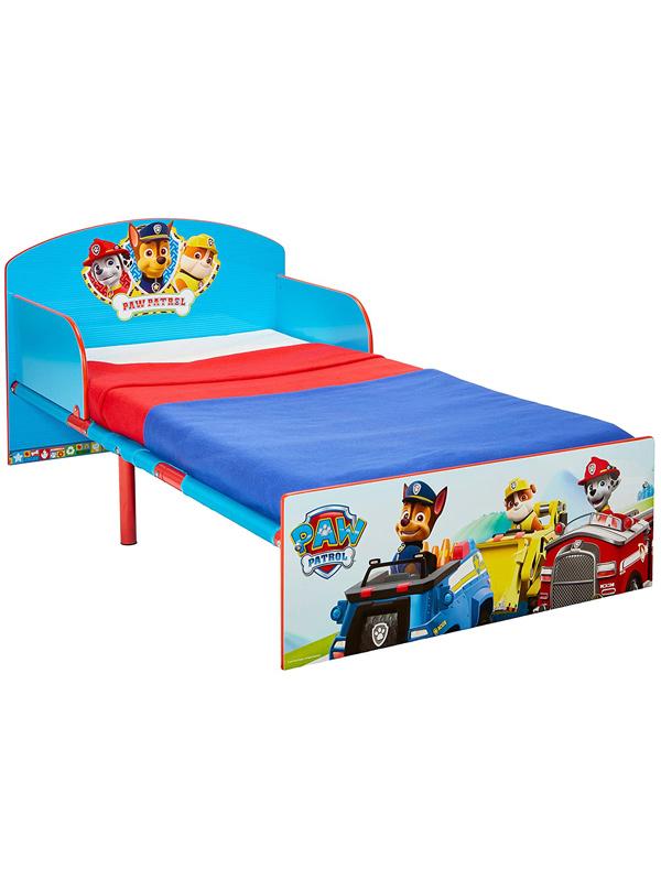Paw Patrol Toddler Bed Plus Fully Sprung Mattress