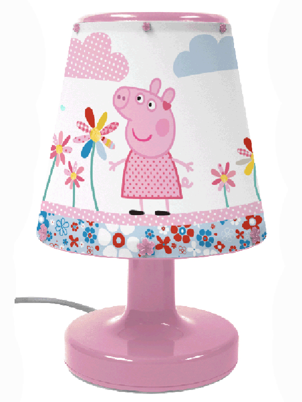 Peppa Pig Bicycle Bedside Lamp