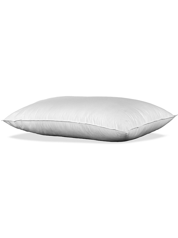 Hollowfibre Filled Pillow with Poly Cotton Casing