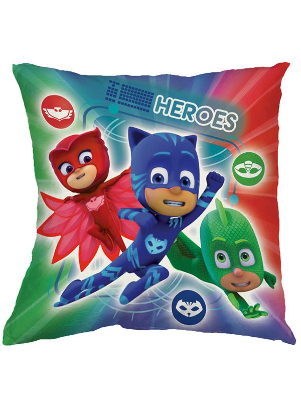 pj masks heroes vs villains cushion