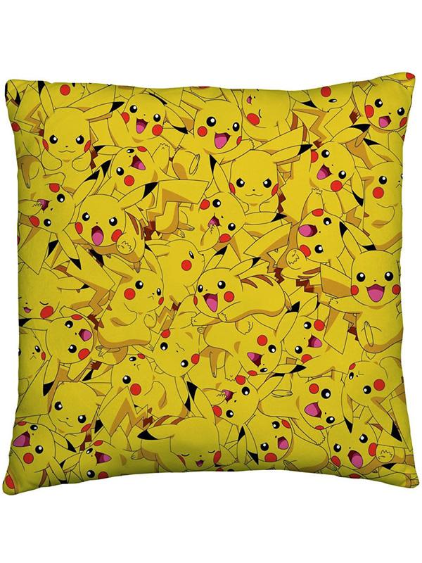 pokemon catch reversible cushion