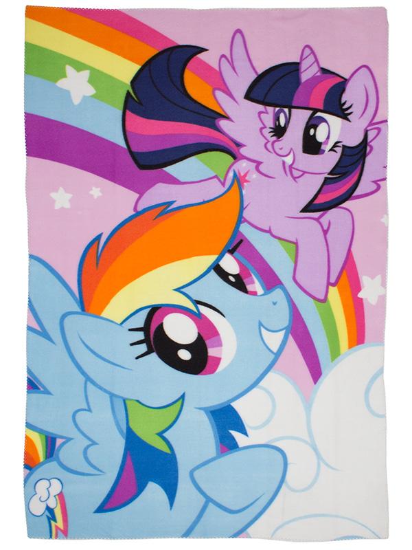 My Little Pony Equestria Fleece Blanket