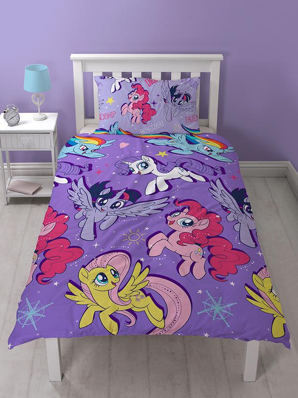 My Little Pony Movie Single Duvet Cover Set - Rotary Design