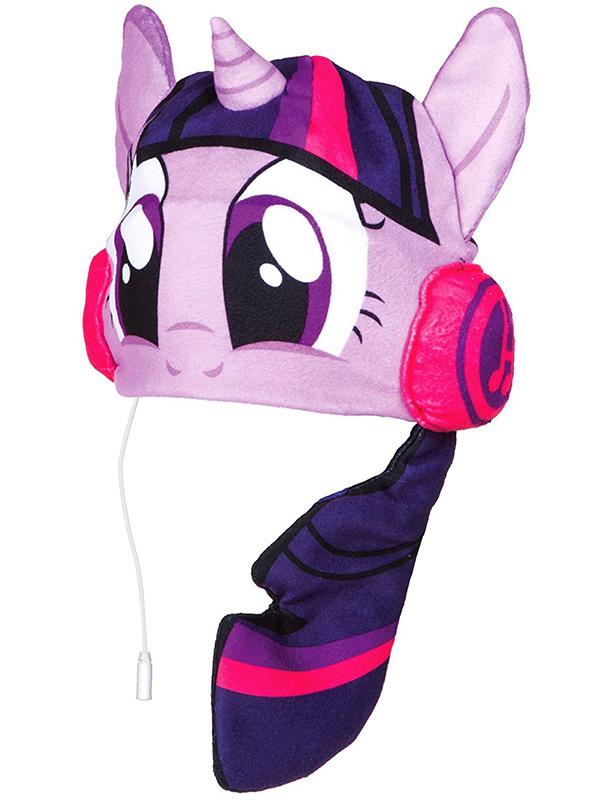 My Little Pony Twilight Sparkle Headphone Hat