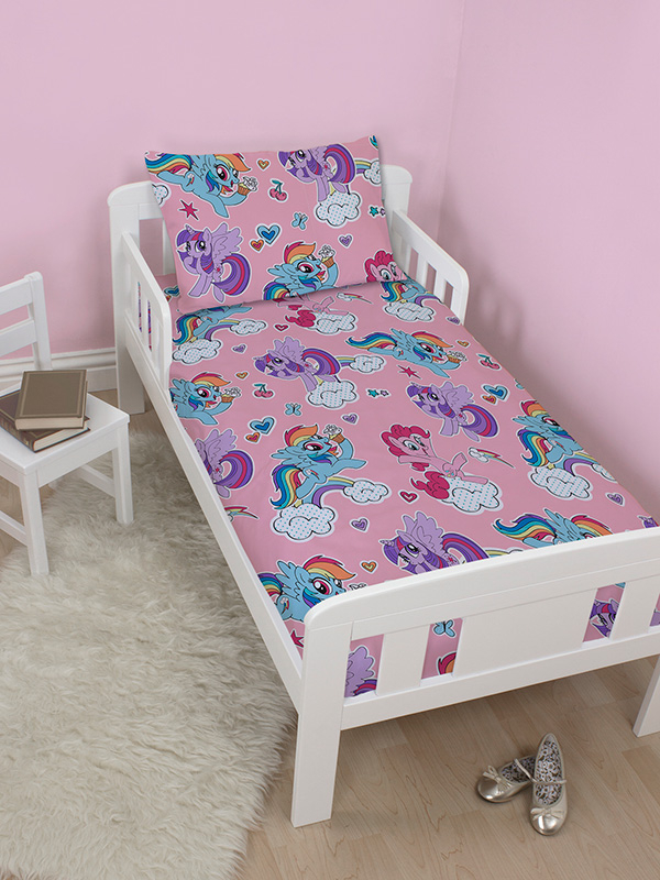 My Little Pony Cupcake 4 in 1 Junior Bedding Set (Duvet, Pillow and