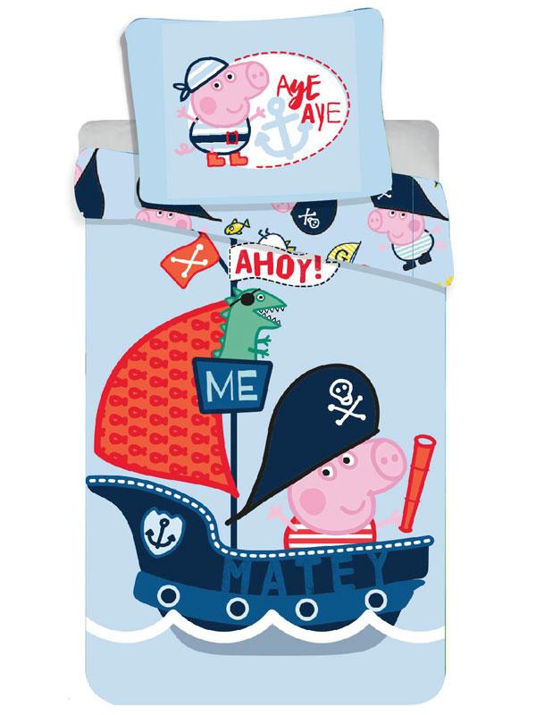 Peppa Pig George Ahoy Single Cotton Duvet Cover Set