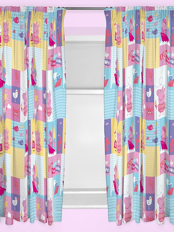 Peppa Pig Nautical Curtains