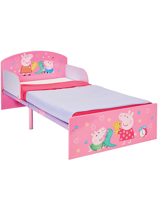 Peppa Pig Toddler Bed with Fully Sprung Mattress
