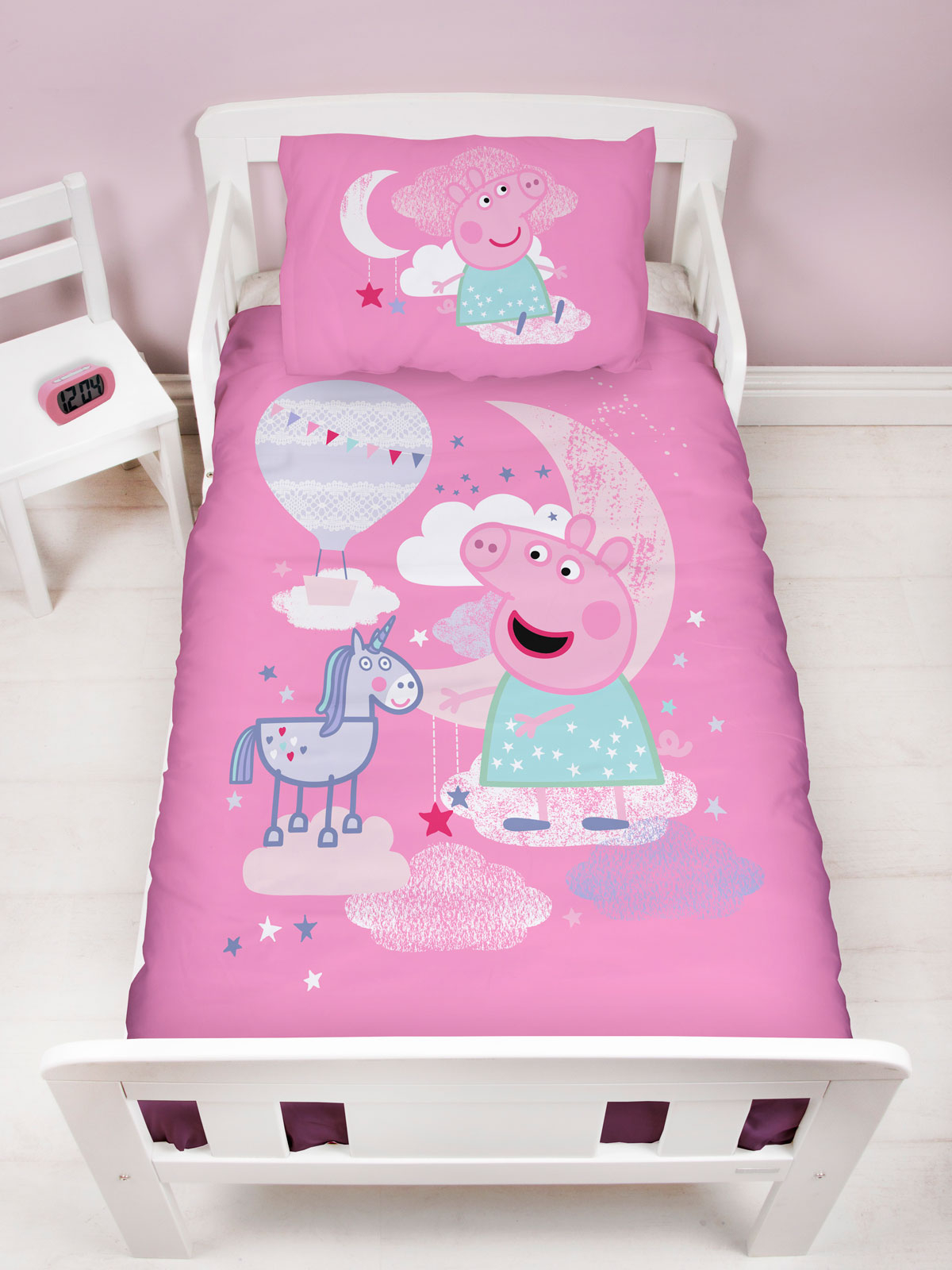 Peppa Pig Stardust Junior Toddler Duvet Cover Set