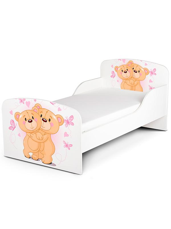 PriceRightHome Teddy Bear Hug Toddler Bed plus Fully Sprung Mattress