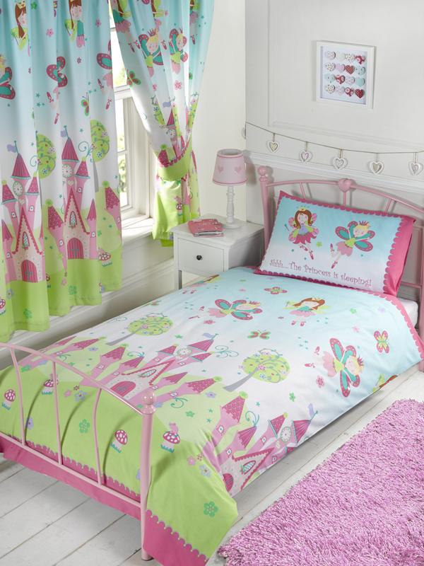 princess is sleeping junior toddler duvet cover and pillowcase set