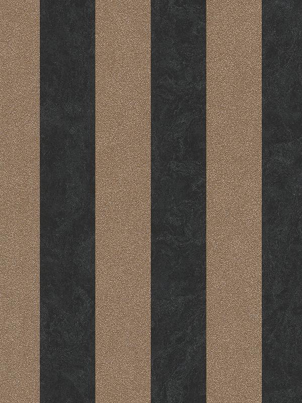 Home & Garden|Wallpaper|Arsenal London Carat Glitter Stripe Wallpaper Black and Gold P+S 13346-90