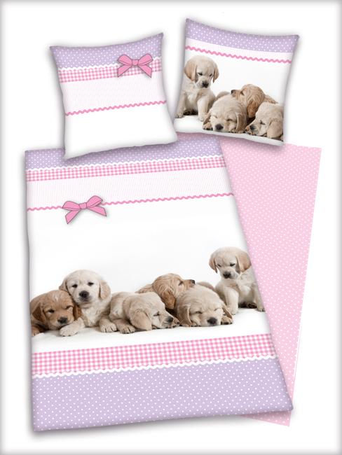 Puppies Duvet Cover Pillowcase Set