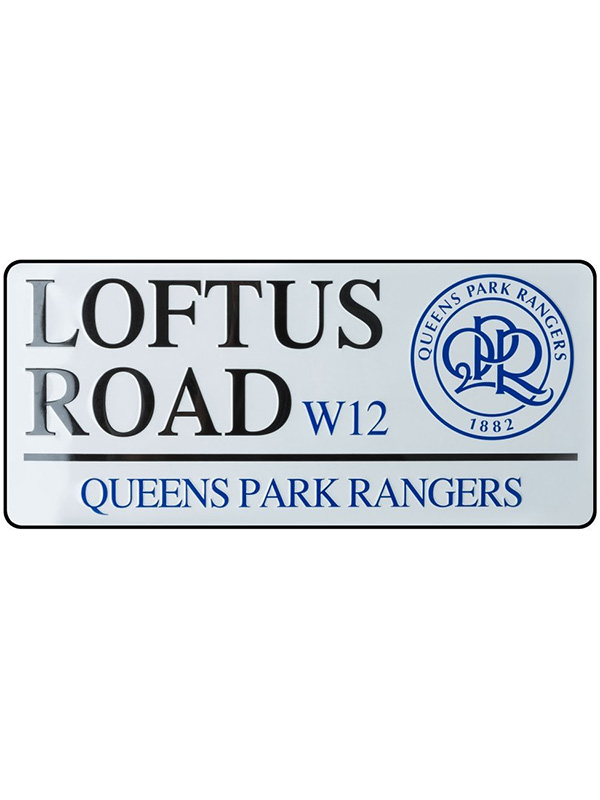 Price Right Home Queens Park Rangers FC Loftus Road Street Sign
