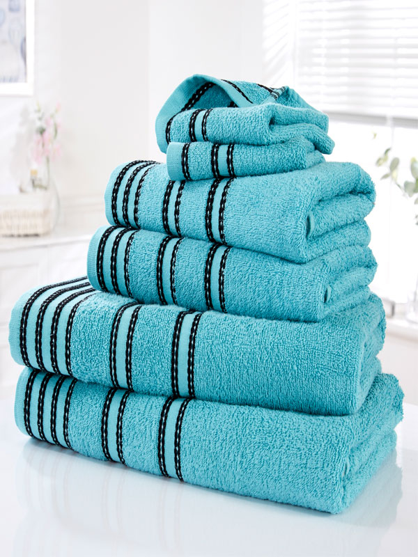 Sirocco 6 Piece Towel Bale Turquoise