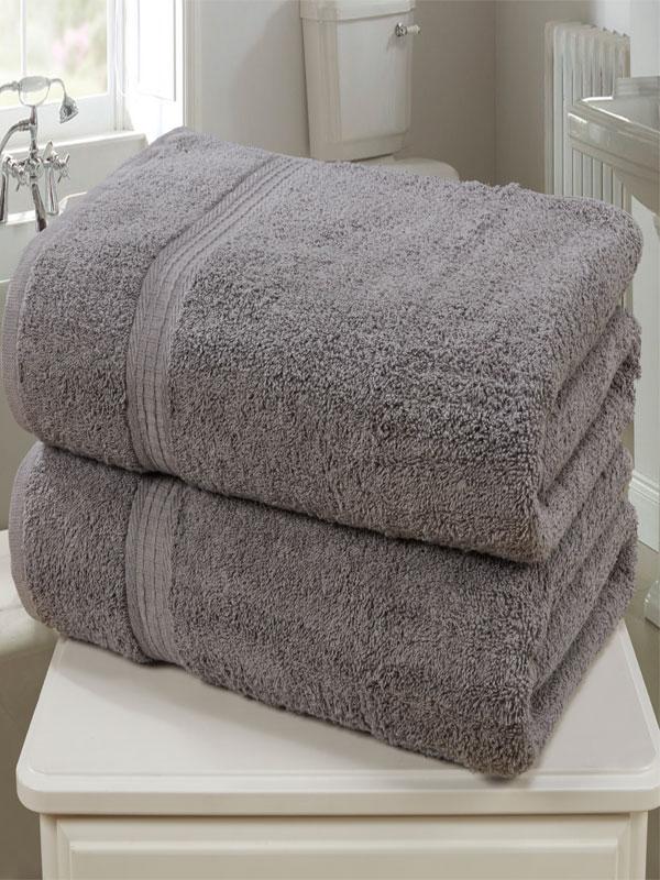 Royal Kensington 2 Piece Towel Bale Charcoal