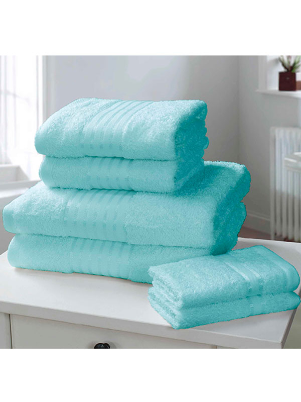 Windsor 6 Piece Towel Bale Turquoise