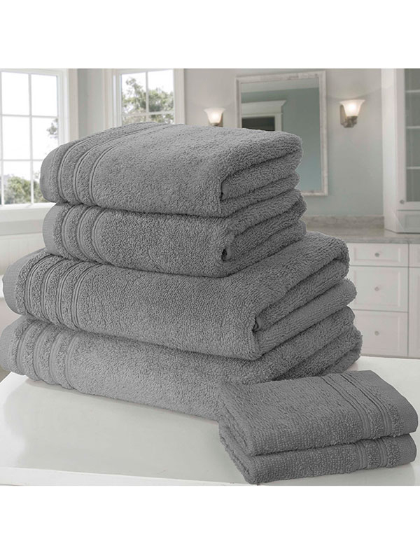 So Soft 6 Piece Towel Bale Charcoal