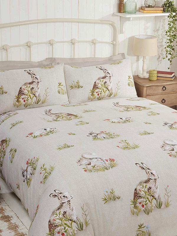 Country Bumpkin Single Duvet Cover and Pillowcase Set
