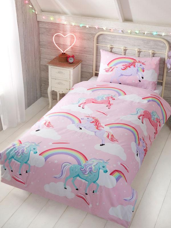 My Little Unicorn Junior Duvet Cover and Pillowcase Set