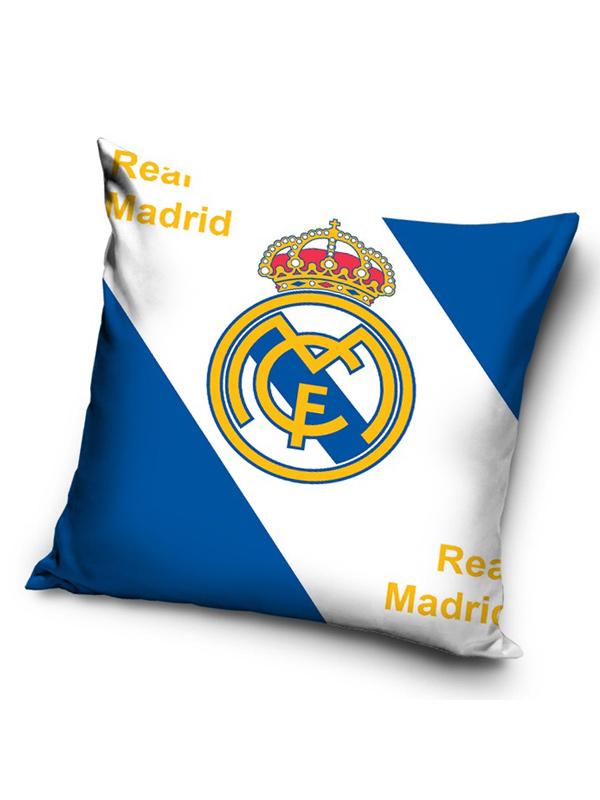 real madrid cf logo filled cushion