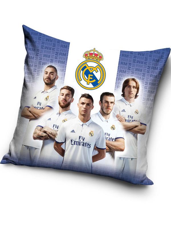 real madrid cf ronaldo stars filled cushion