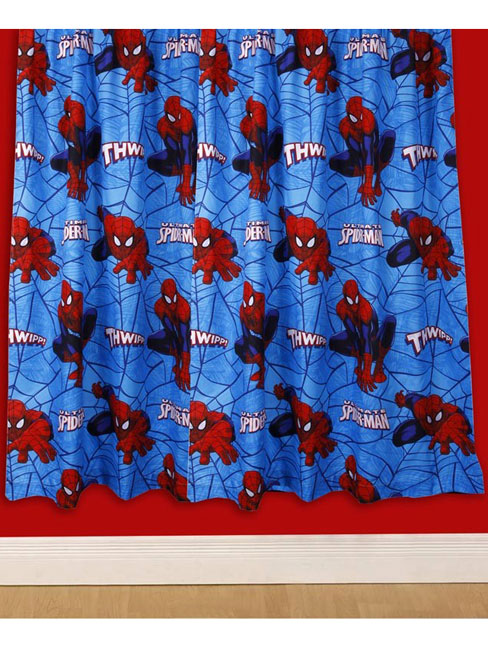 Price Right Home Spiderman Ultimate City Curtains