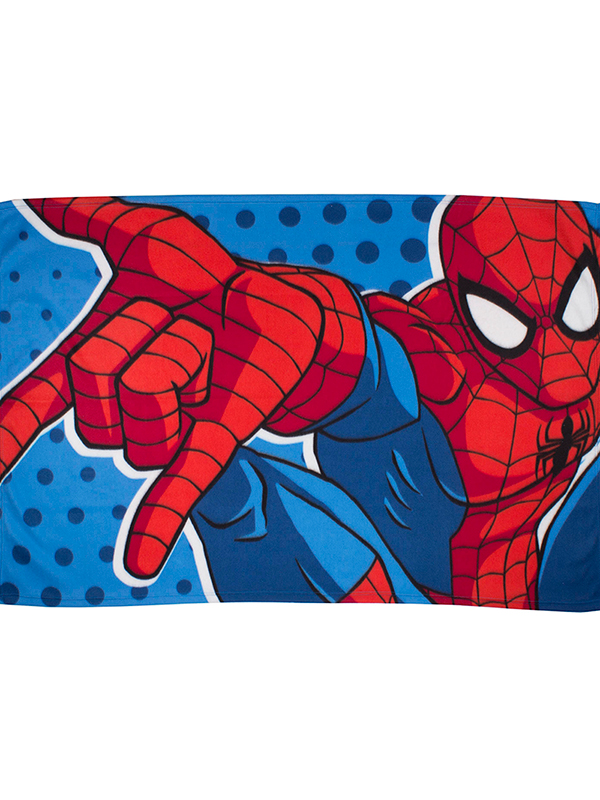 spiderman webhead fleece blanket