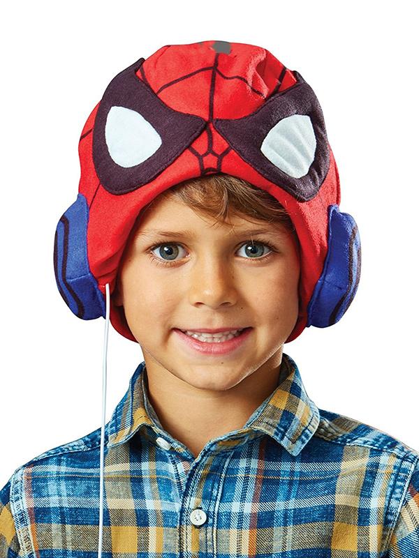 Spiderman Headphone Hat