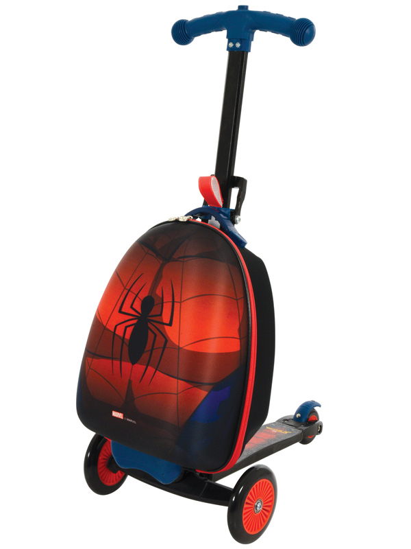 Spiderman Scootin' Suitcase