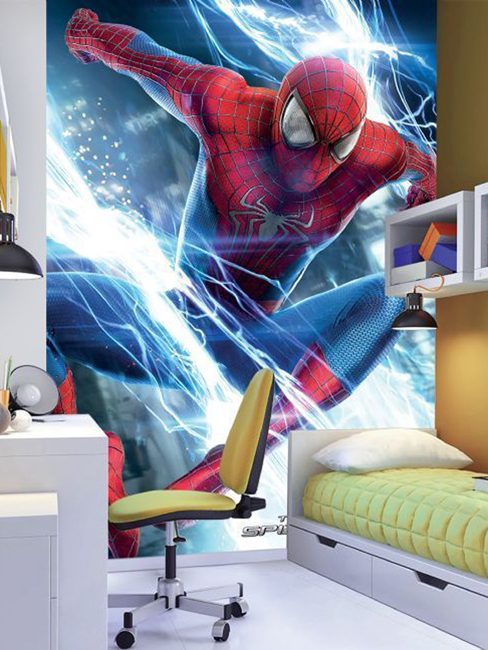 Spiderman Ambiance Wall Mural 232m x 158m