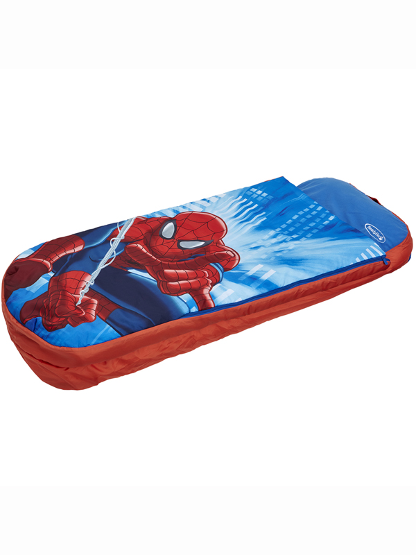 spiderman ultimate junior ready bed  allinone sleepover solution