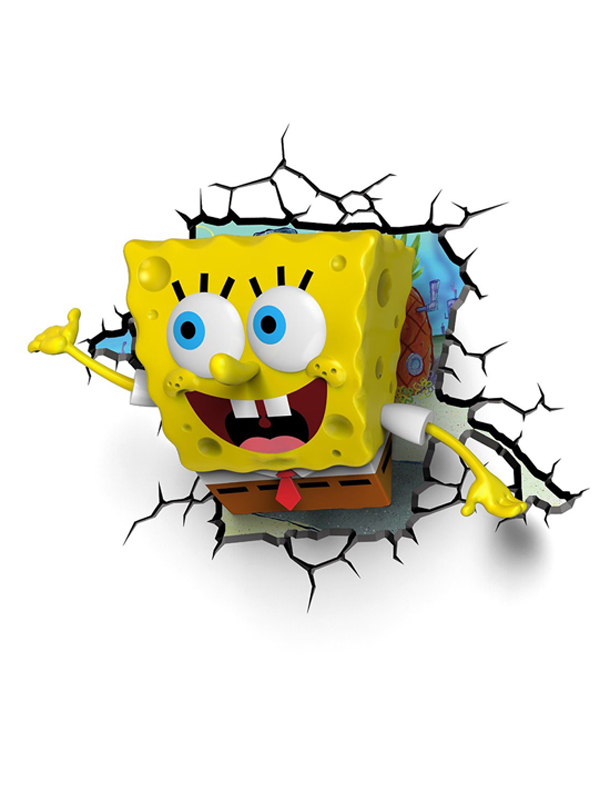 Spongebob Squarepants 3D LED Wall Light