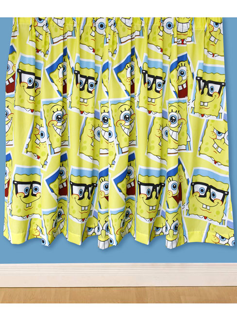 Spongebob Squarepants \'Framed\' Curtains