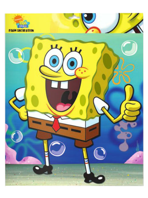 Spongebob Squarepants Large Foam Wall Decor