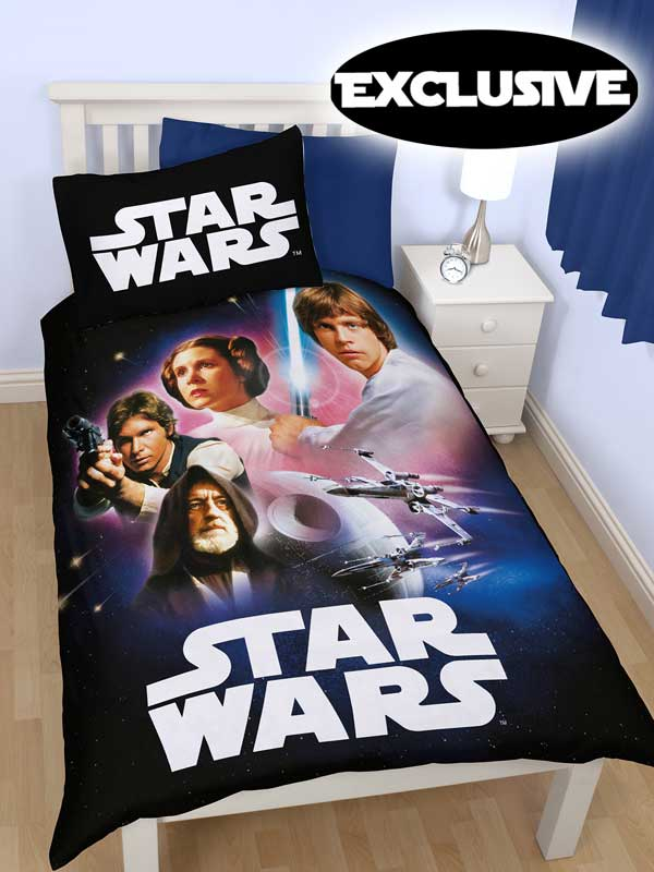star wars empire single duvet cover  exclusive design!