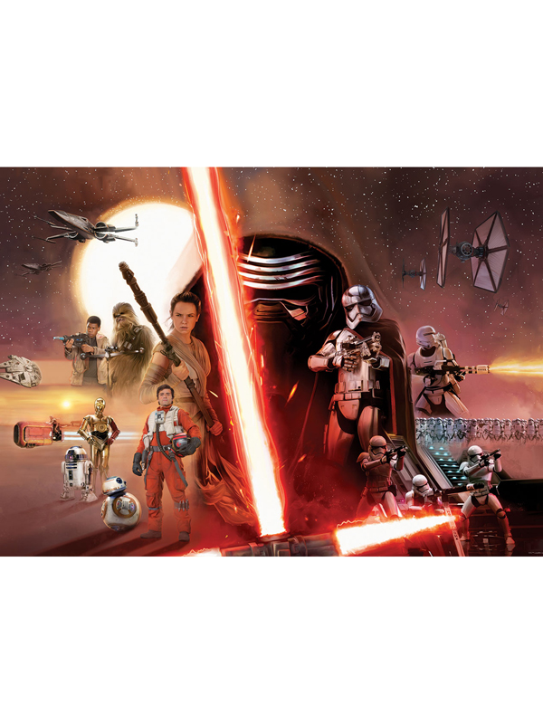 Star Wars Episode VII Wall Mural 254 x 184cm