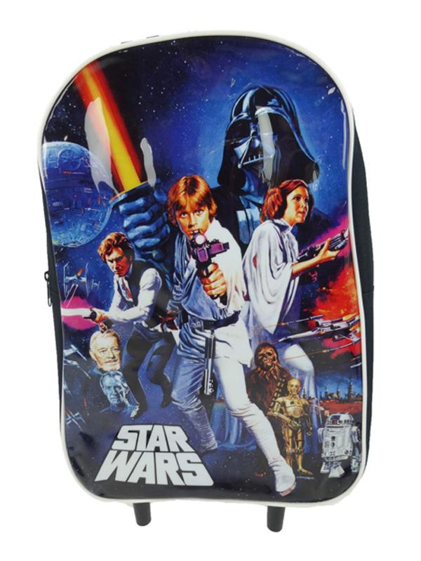 Star Wars Wheeled Trolley Bag