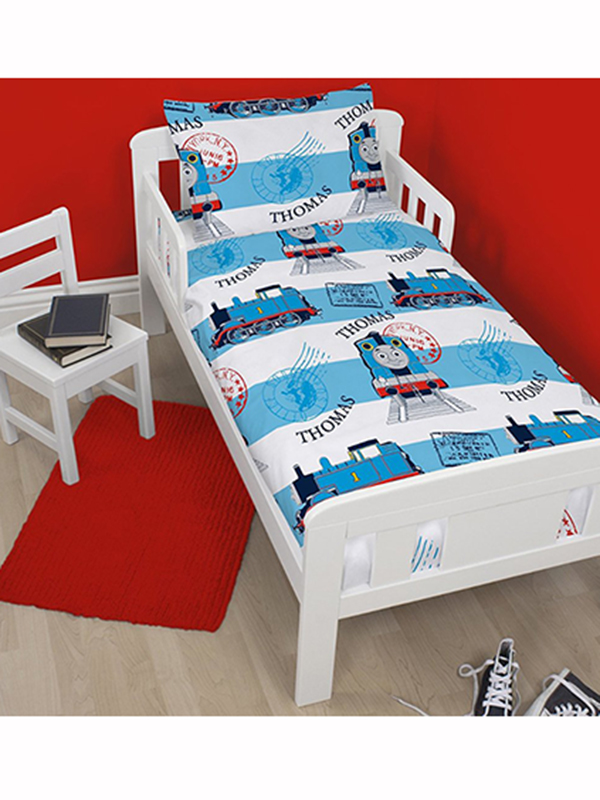 thomas the tank engine adventure junior toddler rotary duvet cover &