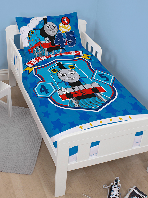 thomas and friends patch junior toddler duvet cover and pillowcase set