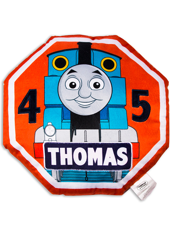thomas and friends patch cushion