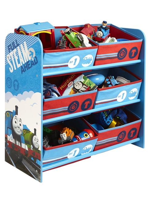 Thomas and Friends 6 Bin Storage Unit