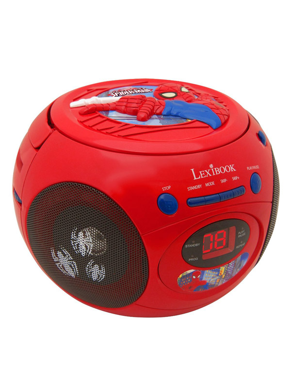 Price Right Home Ultimate Spiderman Radio CD Player