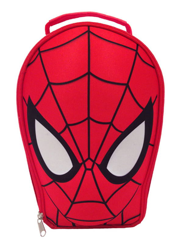 Ultimate Spiderman Shaped Lunch Bag